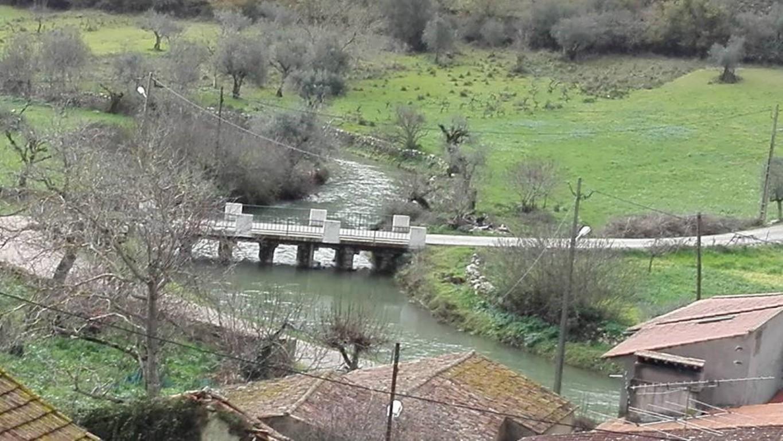 Vista sobre a Ponte de acesso ao Poço